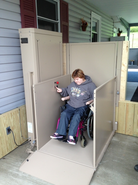 Unenclosed Wheelchair Lifts