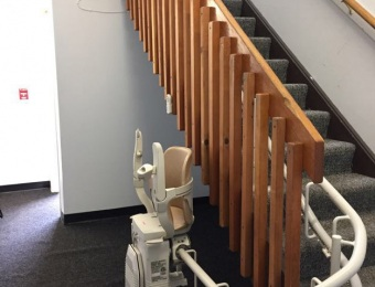 Colt Block APT - Curved Stairlift