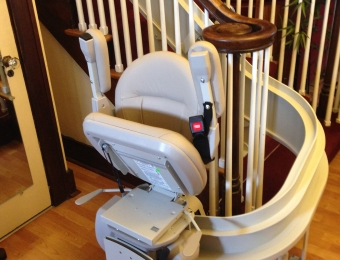 Curved Stairlift (Bruno) - Pittsburgh, PA