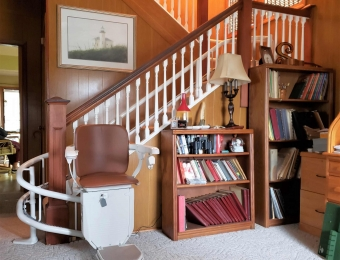 Curved Stairlift - Syracuse, NY