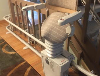 Custom 3 story (Stannah) Curved Stairlift - Buffalo