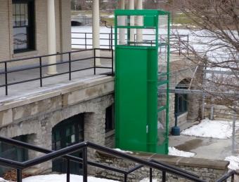Marcy Casino Buffalo, NY Enclosure Lift