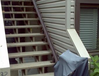 Outdoor (Bruno) Stairlift -  Chautauqua NY
