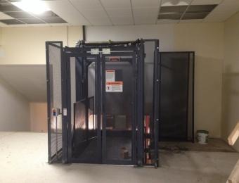 SUNY Binghamton, NY Material Lift