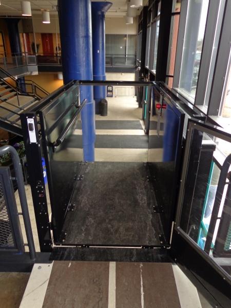Tri Main Center Buffalo Ny Enclosure Lift