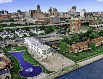 West End Project Along Buffalo Waterfront