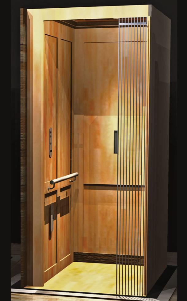 Symmetry Elevator - Home Elevator Shaker Panel