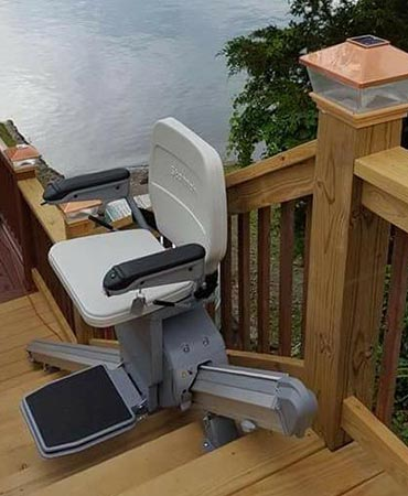Chair Lifts in Buffalo, Pittsburgh, Syracuse, Rochester, Morgantown WV