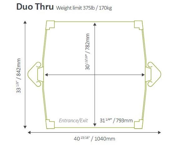 Stiltz Elevator - Duo Thru