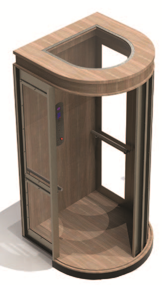 Symmetry Elevator - Custom Cab