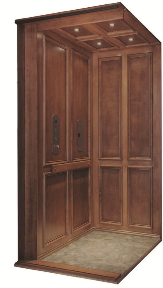 Symmetry Elevator - Recessed Panel