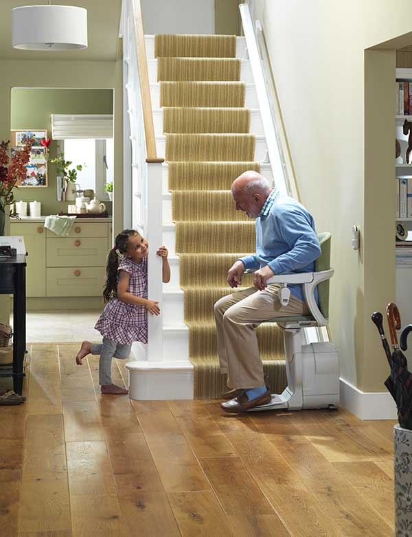 Stairlifts in Buffalo, Erie, Ithaca, NY, Morgantown, WV, and Rochester