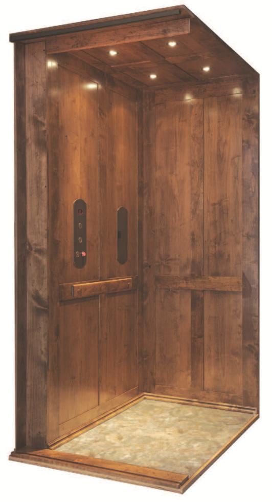 Symmetry Elevator - Shaker Panel