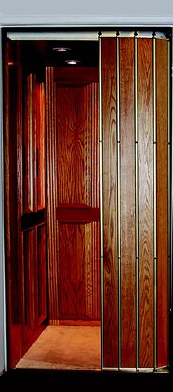 Tambour Style Wrap Around Door