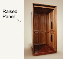 Raised Panel elevator