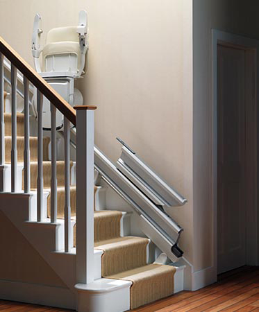 Stairway Lifts in Buffalo, Pittsburgh, Rochester, Erie, Morgantown, WV